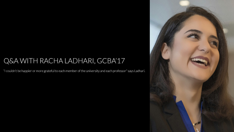 Who is RASHA LADHARI?